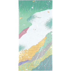 100g金銀雲竜アルミNY平袋 青緑