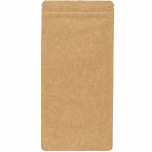 チャック付クラフトAL平袋 110×230