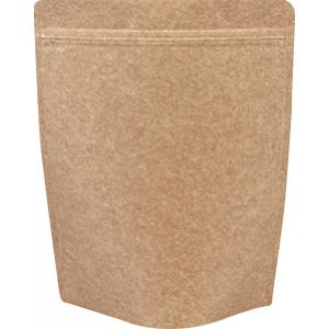 チャック付クラフトALスタンド袋200×260