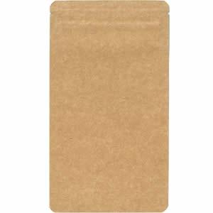 チャック付クラフトAL平袋110×195