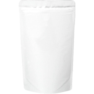 チャック付ALスタンド袋 白160×270