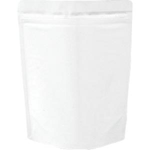 チャック付ALスタンド袋 白180×240