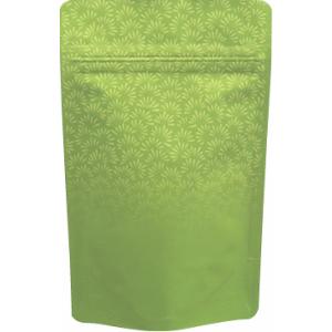 70〜100gチャック付スタンド袋 艶消し緑