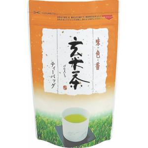 玄米茶TB用チャック付スタンド袋