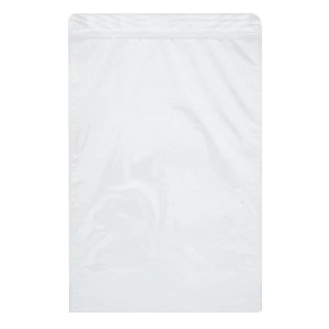チャック付平袋 乳白 295×450