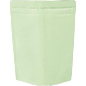 チャック付ALスタンド袋 薄緑180×240