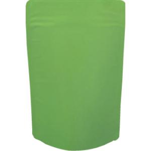 チャック付蒸着スタンド袋 緑120×200