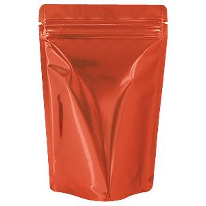 チャック付蒸着スタンド袋 赤140×220