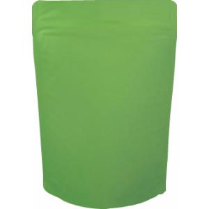 チャック付蒸着スタンド袋 緑140×220