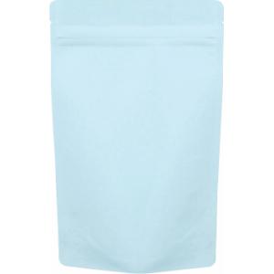 チャック付ALスタンド袋 薄青140×220