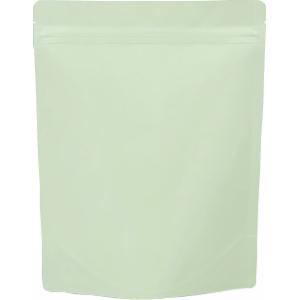 チャック付ALスタンド袋 薄緑200×260