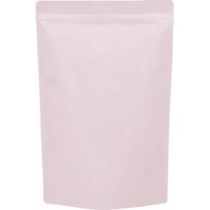 チャック付ALスタンド袋薄ピンク220×340