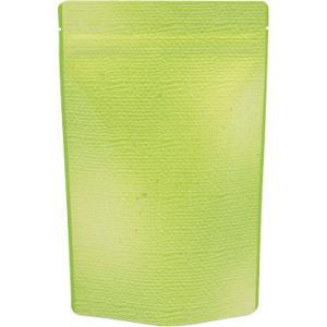 170〜200gチャック付スタンド袋 緑