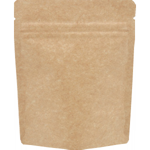 チャック付クラフトALスタンド袋120×150