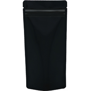 チャック付ALスタンド袋 黒110×230