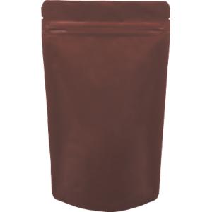 チャック付ALスタンド袋 茶130×230