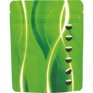 チャック付スタンド袋 緑120×150