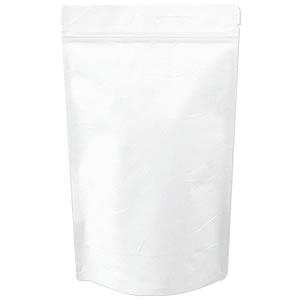 チャック付ALスタンド袋 白220×340