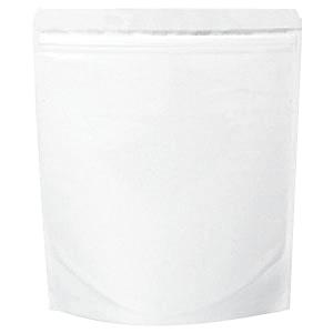 チャック付ALスタンド袋 白220×260