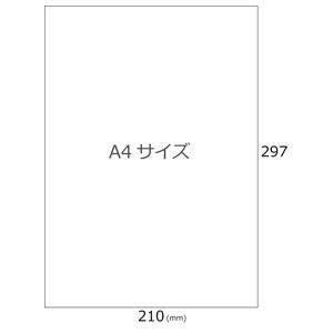 マット無地シール(ノーカット30シート)A4