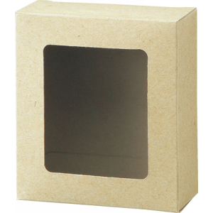 カートン ナチュラル窓付 109×123×45