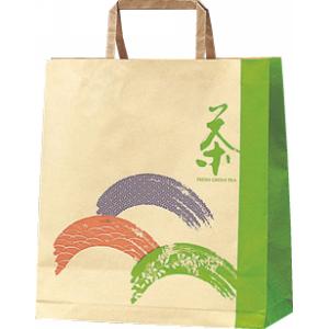 手さげ紙袋(ミニ)茶