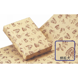 包装紙ワイド(クラフト)コーヒー