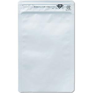 AL-EWチャック付平袋 白100×160