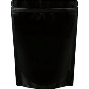 チャック付ALスタンド袋 黒200×260