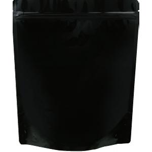チャック付ALスタンド袋 黒220×260