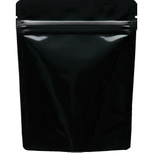 チャック付ALスタンド袋 黒 120×150