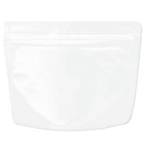 チャック付ALスタンド袋 白 200×160