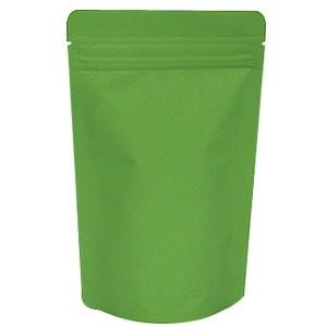 チャック付ALスタンド袋 緑 120×200