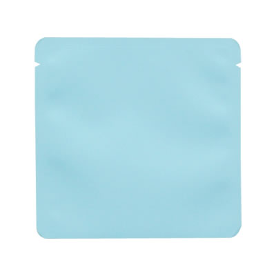 蒸着三方天シール袋 水色 110×110
