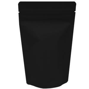 チャック付蒸着スタンド袋 黒110×170