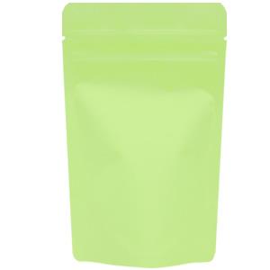 チャック付蒸着スタンド袋 黄緑90×145