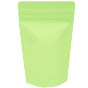 チャック付蒸着スタンド袋 黄緑110×170