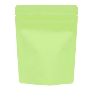 チャック付蒸着スタンド袋 黄緑120×150