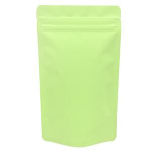 チャック付蒸着スタンド袋 黄緑120×200
