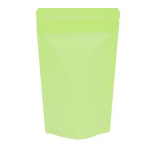 チャック付蒸着スタンド袋 黄緑140×220