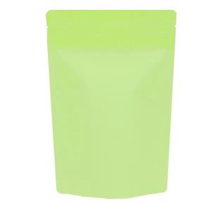 チャック付蒸着スタンド袋 黄緑160×230