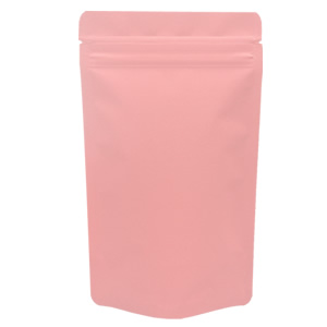 チャック付蒸着スタンド袋 ピンク120×200