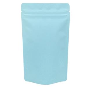 チャック付蒸着スタンド袋 水色120×200