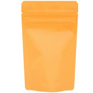 チャック付蒸着スタンド袋 オレンジ90×145