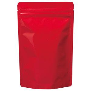 チャック付ALスタンド袋 赤 140×220