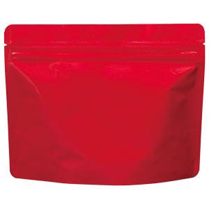 チャック付ALスタンド袋 赤 200×160