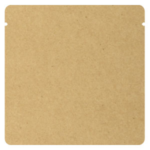 Aクラフト蒸着三方袋 110×110
