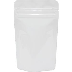 底透明チャック付スタンド袋 白 90×145