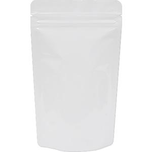 底透明チャック付スタンド袋 白 120×200
