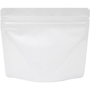 底透明チャック付スタンド袋 白 170×140